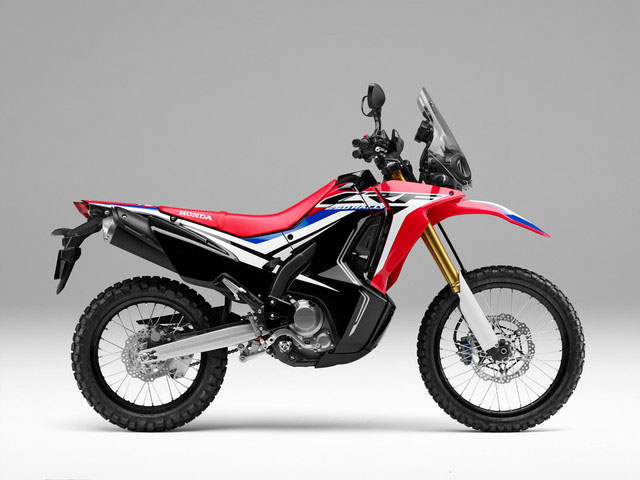 2018 Honda CRF250L Rally ABS in Madera, California