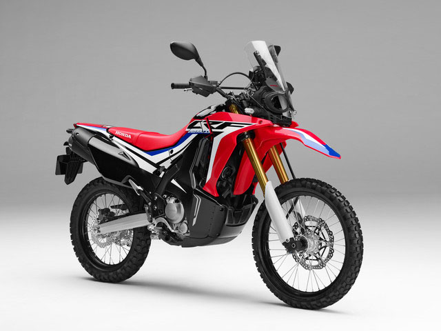 2018 Honda CRF250L Rally in Hendersonville, North Carolina
