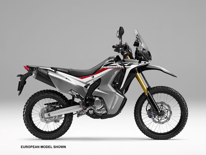 2018 Honda CRF250L Rally ABS in Freeport, Illinois
