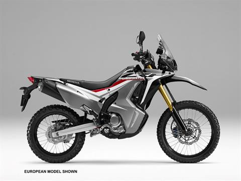 2018 Honda CRF250L Rally ABS in Anchorage, Alaska
