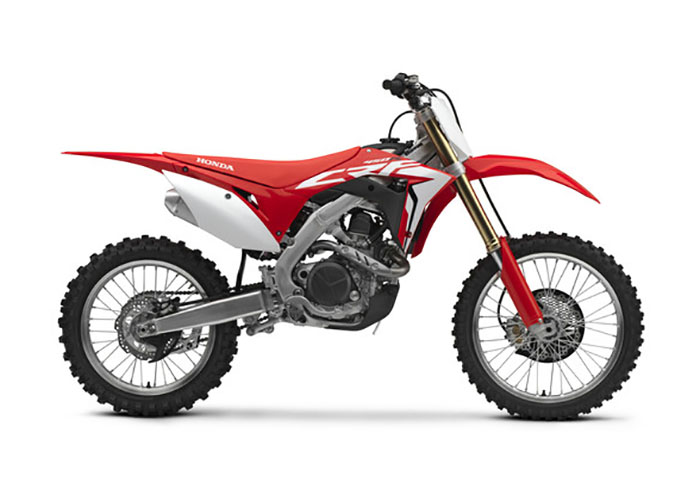 2018 Honda CRF450R in Everett, Pennsylvania - Photo 1