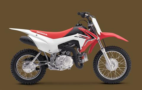 2018 Honda CRF110F in Amarillo, Texas