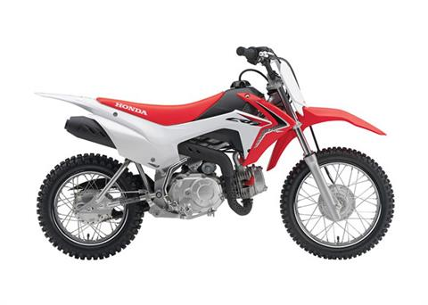 2018 Honda CRF110F in Crystal Lake, Illinois