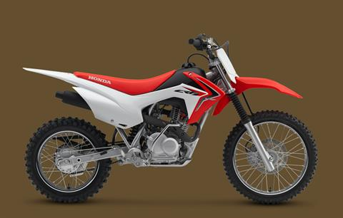 2018 Honda CRF125F in Amarillo, Texas