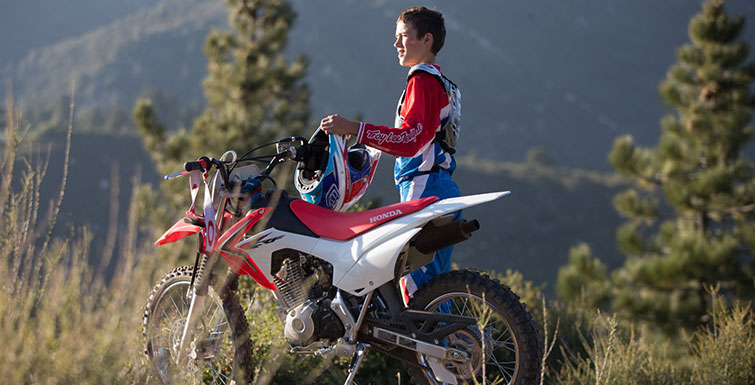 2018 Honda CRF125F (Big Wheel) in Centralia, Washington