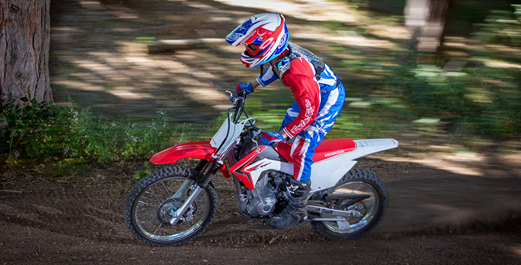 2018 Honda CRF125F (Big Wheel) in Conway, New Hampshire