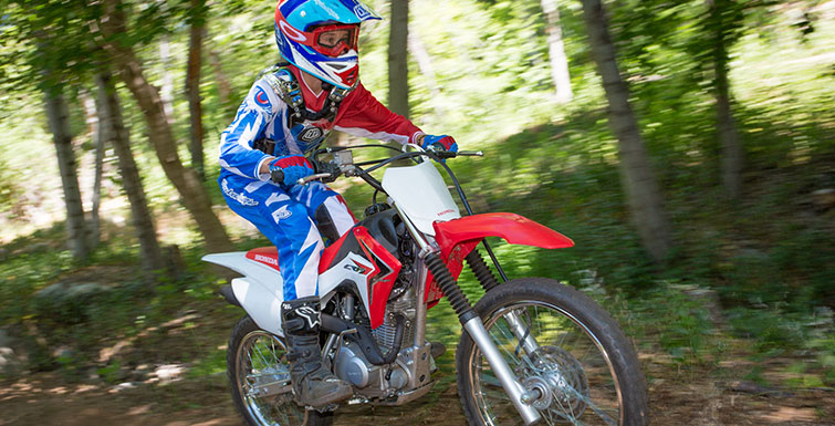 2018 Honda CRF125F (Big Wheel) in Phillipston, Massachusetts