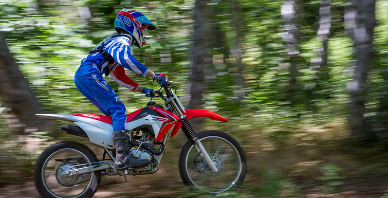 2018 Honda CRF125F (Big Wheel) in Gridley, California