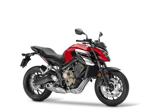 2018 Honda CB650F ABS in Sumter, South Carolina