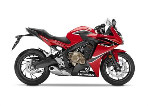 2018 Honda CBR650F ABS in Greenville, South Carolina