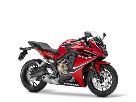 2018 Honda CBR650F ABS in Colorado Springs, Colorado