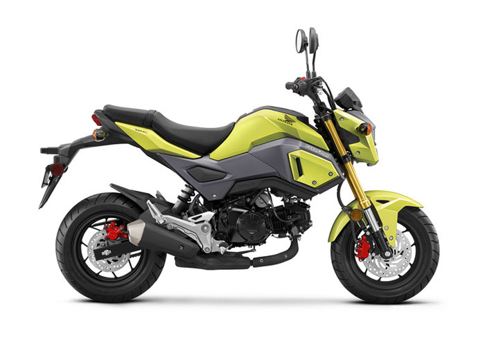 2018 Honda Grom in Crystal Lake, Illinois