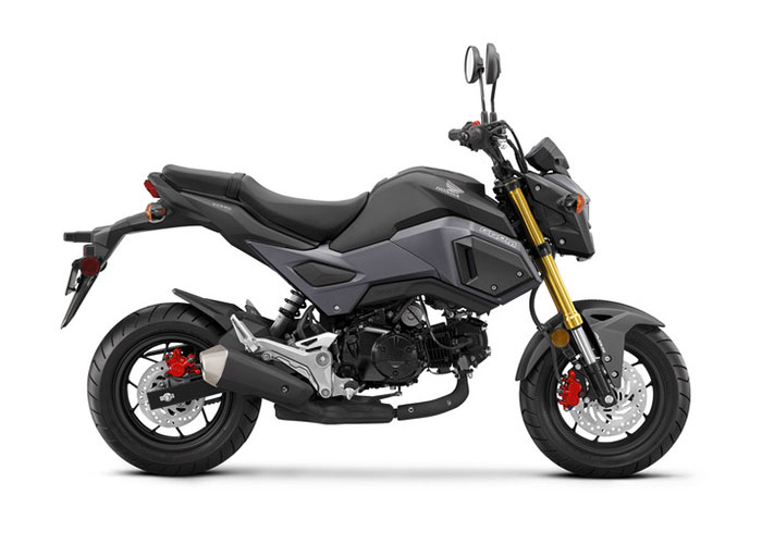 2018 Honda Grom ABS in Phillipston, Massachusetts