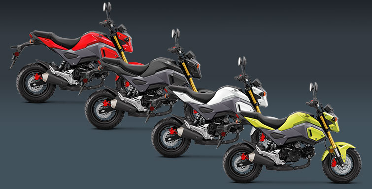 2018 Honda Grom ABS in Bastrop In Tax District 1, Louisiana