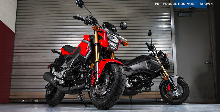 2018 Honda Grom ABS in Adams, Massachusetts
