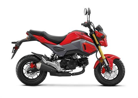 2018 Honda Grom ABS in Baldwin, Michigan