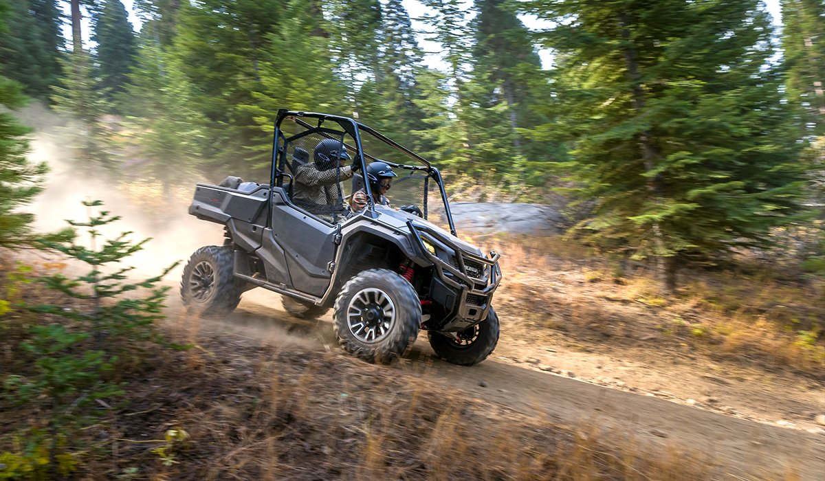 2018 Honda Pioneer 1000-5 Deluxe in Missoula, Montana - Photo 10