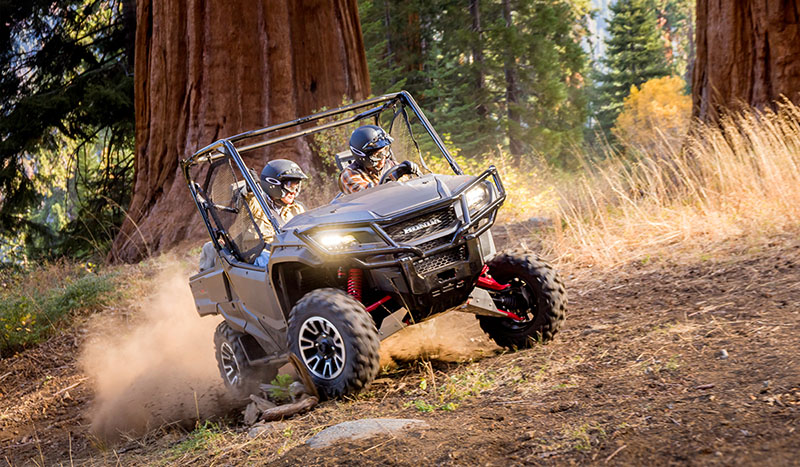 2018 Honda Pioneer 1000-5 Deluxe in West Bridgewater, Massachusetts