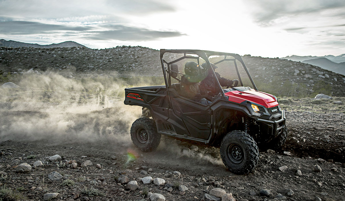 2018 Honda Pioneer 1000-5 LE in Adams, Massachusetts