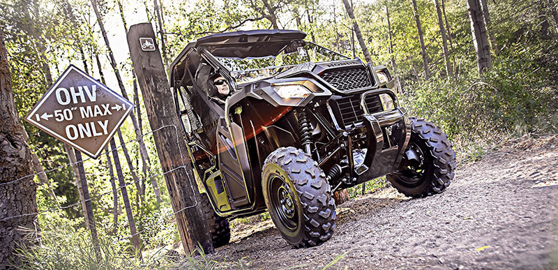 2018 Honda Pioneer 500 in Phillipston, Massachusetts
