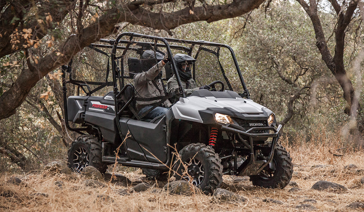 2018 Honda Pioneer 700-4 in Concord, New Hampshire