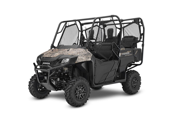 2018 Honda Pioneer 700-4 Deluxe in North Mankato, Minnesota