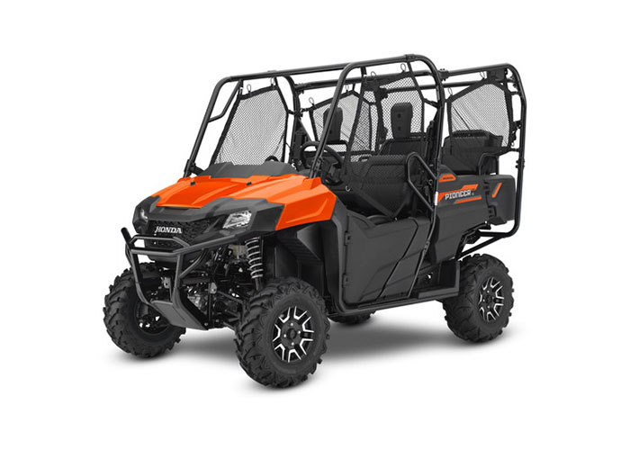 2018 Honda Pioneer 700-4 Deluxe in Crystal Lake, Illinois