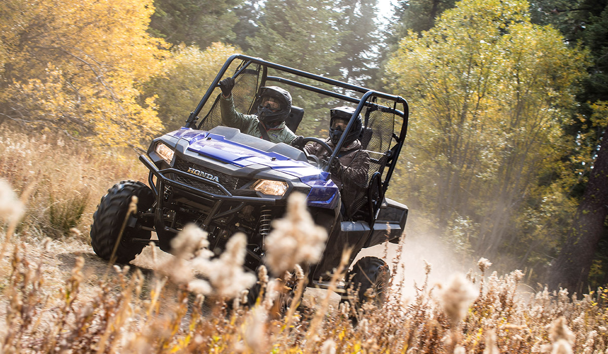 2018 Honda Pioneer 700-4 Deluxe in West Bridgewater, Massachusetts