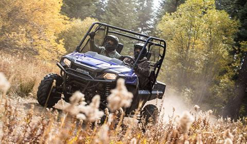 2018 Honda Pioneer 700-4 Deluxe in Lapeer, Michigan