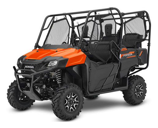 2018 Honda Pioneer 700-4 Deluxe in Lima, Ohio - Photo 1