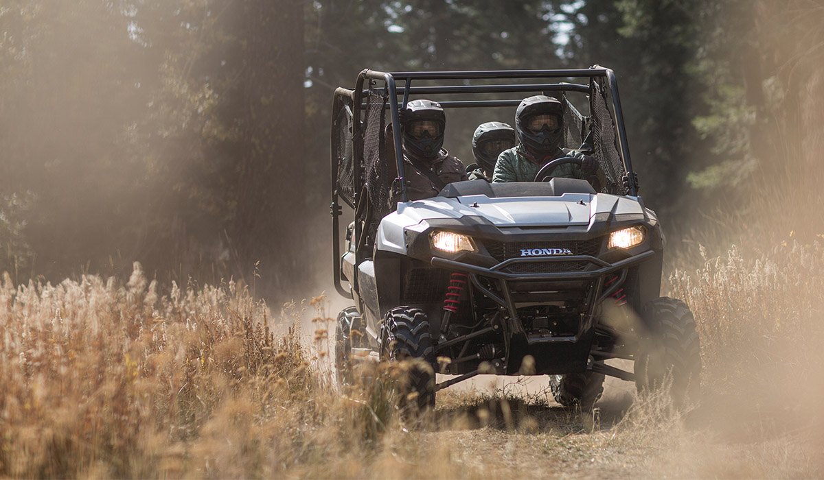 2018 Honda Pioneer 700 in Baldwin, Michigan