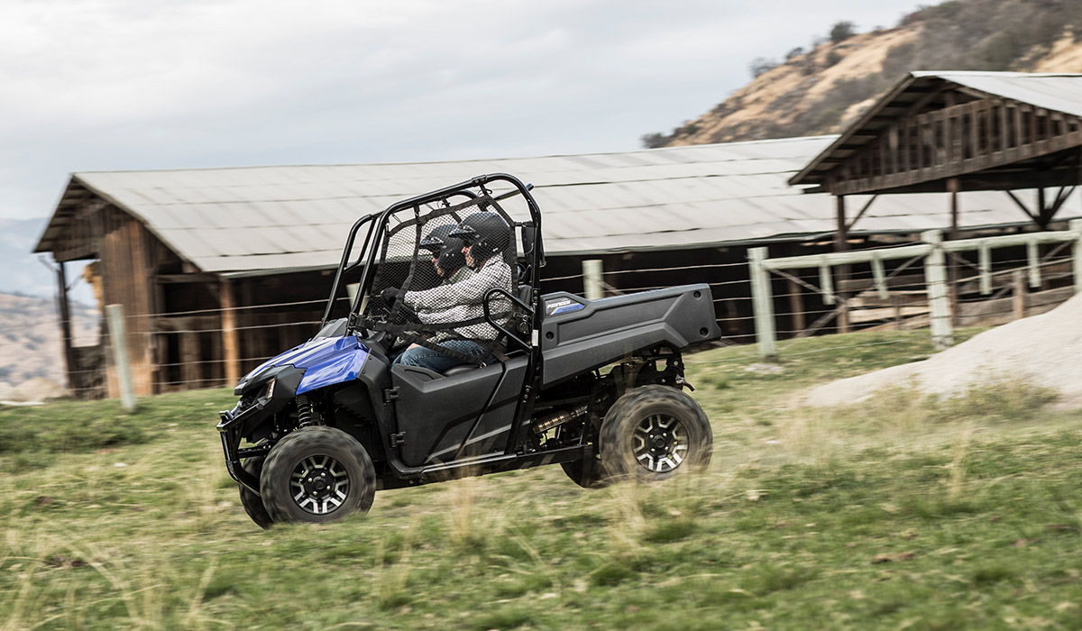 2018 Honda Pioneer 700 in Adams, Massachusetts