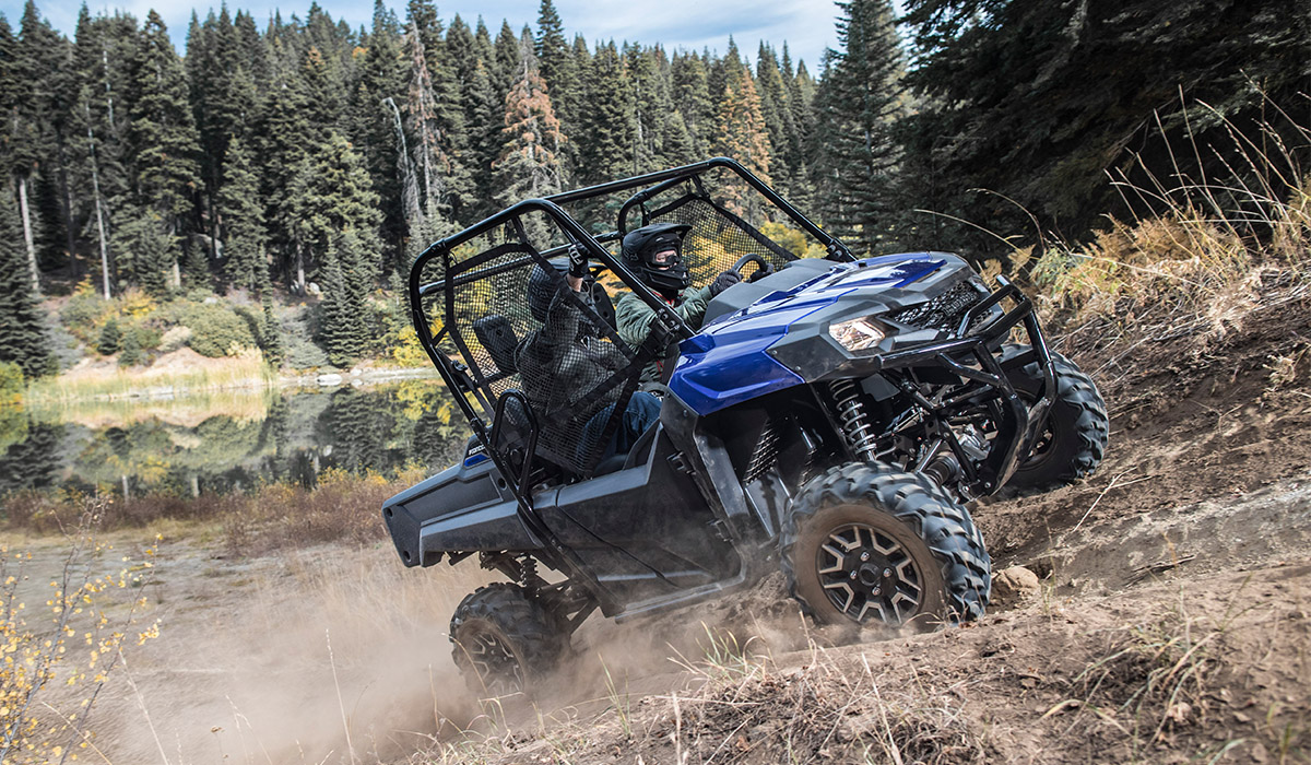 2018 Honda Pioneer 700 Deluxe in Lapeer, Michigan
