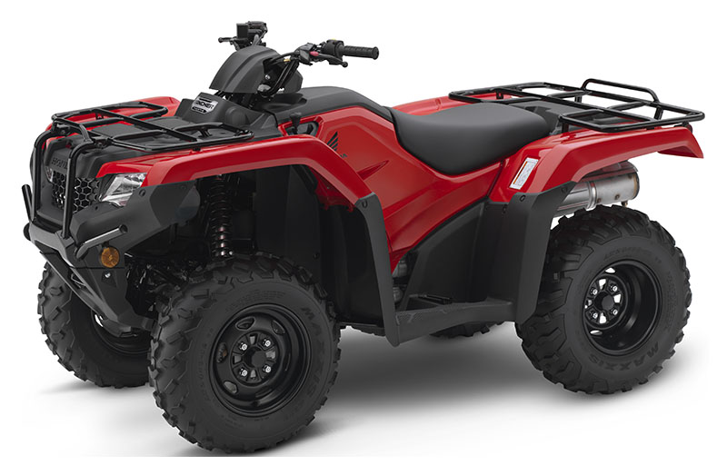 2019 Honda FourTrax Rancher 4x4 in North Reading, Massachusetts