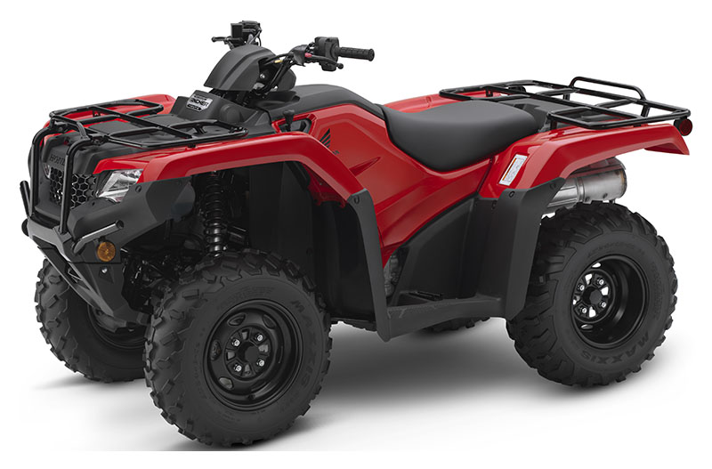 2019 Honda FourTrax Rancher 4x4 DCT EPS in Belle Plaine, Minnesota