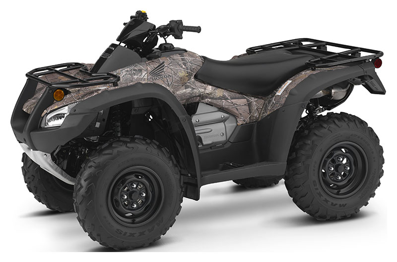 2019 Honda FourTrax Rincon in Baldwin, Michigan