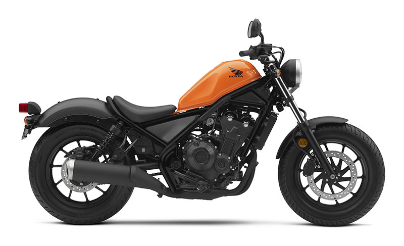 2019 Honda Rebel 500 in Monroe, Michigan - Photo 1