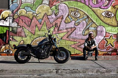 2019 Honda Rebel 500 ABS in Lafayette, Louisiana - Photo 2