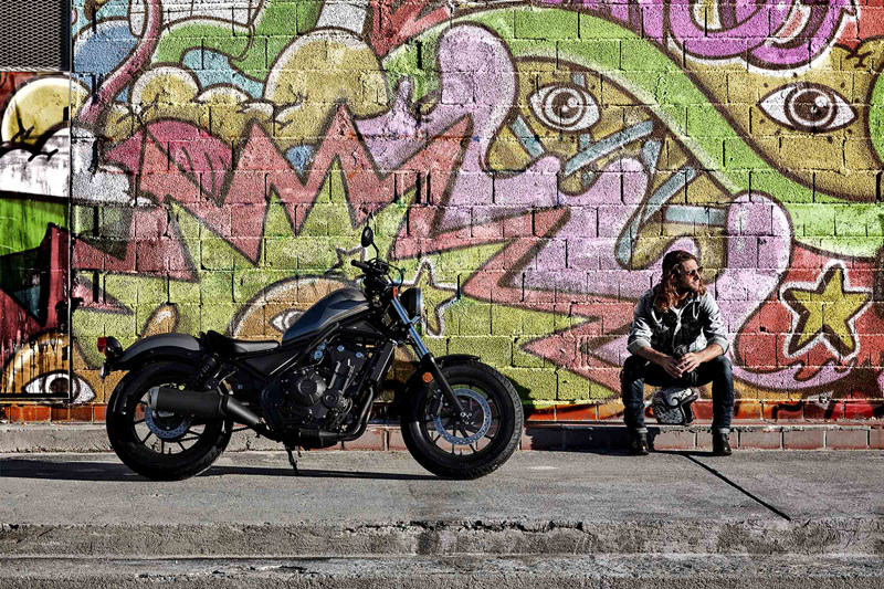 2019 Honda Rebel 500 ABS in Hendersonville, North Carolina - Photo 2