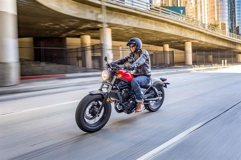 2019 Honda Rebel 500 ABS in Augusta, Maine - Photo 4