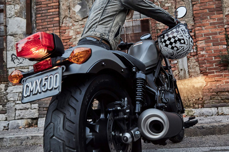 2019 Honda Rebel 500 ABS in West Bridgewater, Massachusetts - Photo 5