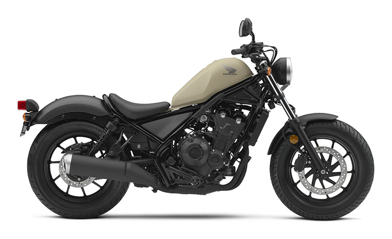 2019 Honda Rebel 500 ABS in Sterling, Illinois - Photo 1