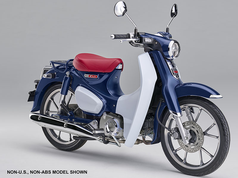 2019 Honda Super Cub C125 ABS in Sterling, Illinois - Photo 2