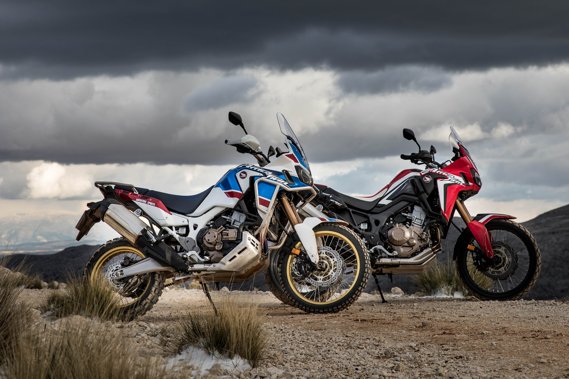 2019 Honda Africa Twin in Hot Springs National Park, Arkansas
