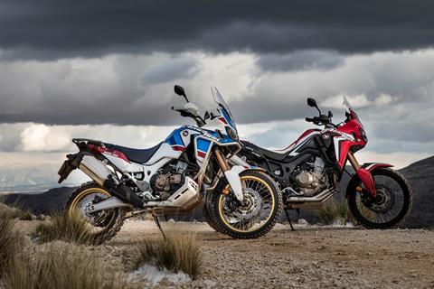 2019 Honda Africa Twin DCT in Freeport, Illinois