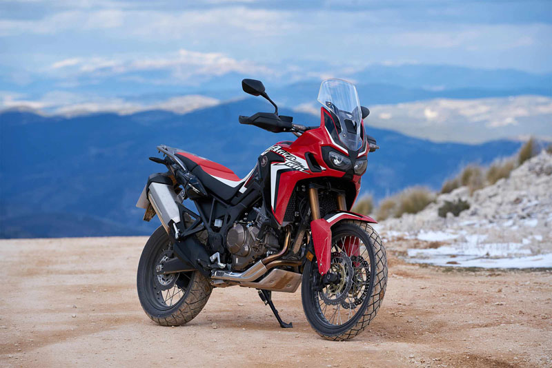 2019 Honda Africa Twin DCT in Hot Springs National Park, Arkansas