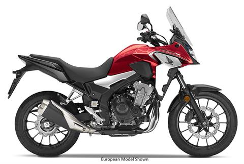 2019 Honda CB500X ABS in Redding, California