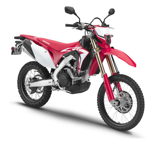 2019 Honda CRF450L in Baldwin, Michigan