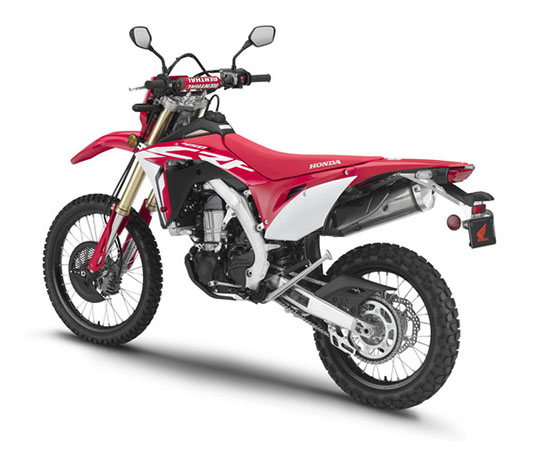 2019 Honda CRF450L in Corona, California