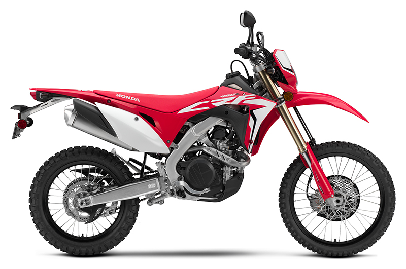 2019 Honda CRF450L in Freeport, Illinois